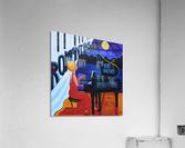 Romantika Piano  Acrylic Print