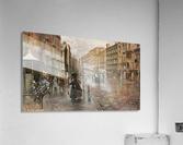 Napoli, Via Toledo  Impression acrylique