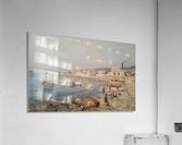 Marina di Napoli  Impression acrylique