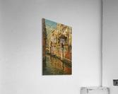 Shining morning in Venice  Impression acrylique