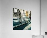 London Rain  Impression acrylique