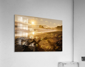 Seashore at sunset, San Simeon State Park; California, United States of America  Acrylic Print
