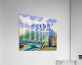 Castle Mountain Beauty  Acrylic Print