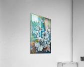 White color  Acrylic Print