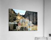 Amalfi  Old Town - Italy  Acrylic Print