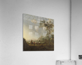 Landscape with herdsman and cattle  Acrylic Print