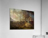 Landschap met koeien en herdersjongen  Acrylic Print