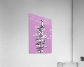 Graphic Art SIGNPOST | pink  Acrylic Print