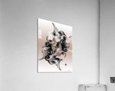Soft Impression Of Dysplastic Departure  Acrylic Print