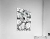 Circled in infiniti  Acrylic Print
