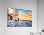 Tangerine Skies  Acrylic Print