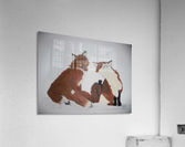 Red Fox pair  Acrylic Print