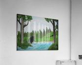 Bear territory   Acrylic Print