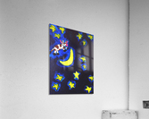 Cow Jumped over the Moon. Dominic H  Acrylic Print