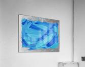 Blue. Walker W.  Acrylic Print