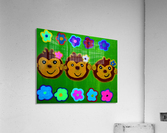 Chain of Monkey.Ali H  Acrylic Print