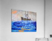 Tug Boat. Davey K  Acrylic Print