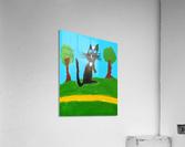 Meow. Susan S  Acrylic Print