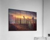 Monument Sunrise.  Acrylic Print
