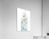 Modern Art BIG BEN | watercolor   Acrylic Print