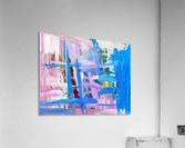 Blue Cascade. Katie J  Acrylic Print