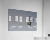 Marche hivernale  Impression acrylique