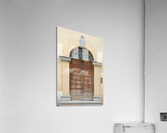 Old Wooden Door Tavernelle  Acrylic Print
