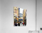 Shad Thames Street View  Acrylic Print