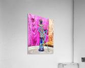 Exotic Oriental Hookah Pipe  Acrylic Print