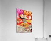 Exotic Oriental Hookah Pipe 2  Acrylic Print
