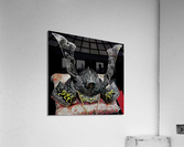 Samurai Helmet   Acrylic Print