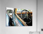 Fiat 508 Balila Through the Window  Acrylic Print