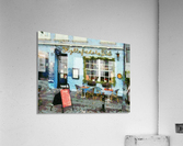 Blue Cafe Copenhagen  Acrylic Print