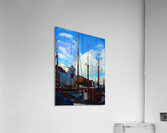 A Study in Masts  Acrylic Print