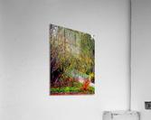 The Willow Bridge  Acrylic Print