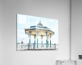 The Bandstand on Brighton Seafront  Acrylic Print