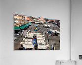 View Over Jemaa el Fnaa 1  Acrylic Print