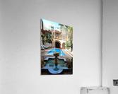 Riad Pool View Marrakesh  Acrylic Print