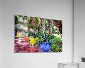 Colorful Plant Pots Marrakech 9  Acrylic Print