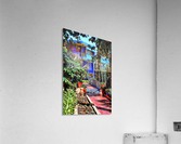 Approach To Cubist Villa Jardin Majorelle  Acrylic Print