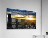 indonesia java landscape borobudur  Acrylic Print