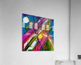 Happy Colors  Acrylic Print