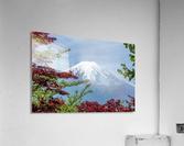 mountain mount landscape japanese  Acrylic Print