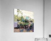 Suburban Springtime  Acrylic Print