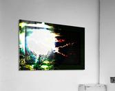 Dark Sun  Acrylic Print