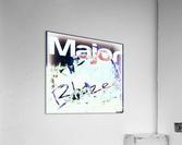 MajorBlazed SnowCO  Acrylic Print