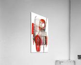 noir_blanc_rouge  Acrylic Print