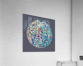 RONDI pastel medium grey  Acrylic Print