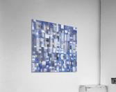 STAGE chrome blue  Acrylic Print
