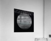 ORB Black and white  Acrylic Print